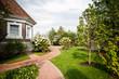 Leinwanddruck Bild - Сад / Garden