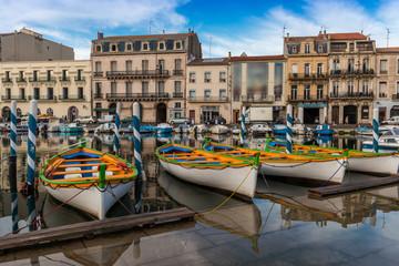 Barques à Sète