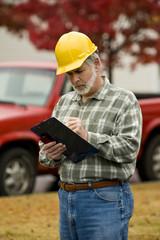 Construction Supervisor Writes Report