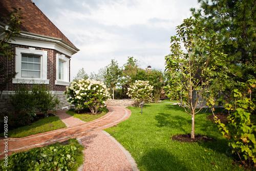 Leinwanddruck Bild Сад / Garden