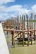 Leinwanddruck Bild - nouveau port de l'aiguillon sur mer-vendée