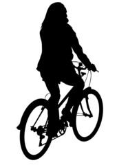 Cyclist sport women