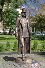 Monument of Emperor Franz Joseph I in Chernivtsi, Ukraine