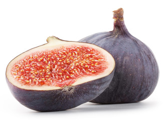 Fragrant sliced ​​figs