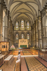 Rochester Cathedral interior