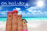 Fototapety on holiday