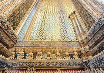 Wat Phra Keaw in Bangkok Thailand