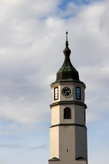Clock tower,kalemegdan fortress in Belgrade,Serbia