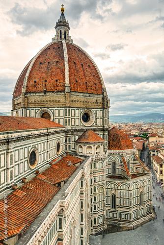The Basilica di Santa Maria del Fiore in Florence, Italy - 71606037