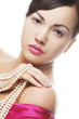 clamor woman with pearl