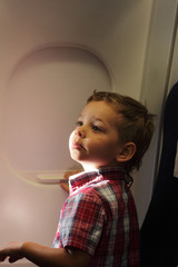 Child on the flight