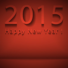 Happy New Year 2015 background, eps 10