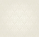Bright luxury vintage wedding seamless wallpaper  background poster