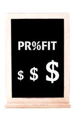 Profit Sign