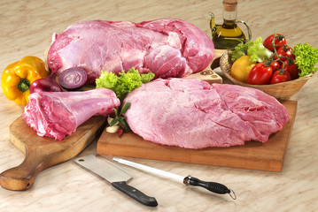 still-life carne