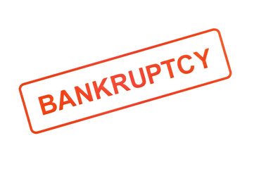 Bankruptcy Rubber Stamp