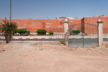 Marrakesh city view
