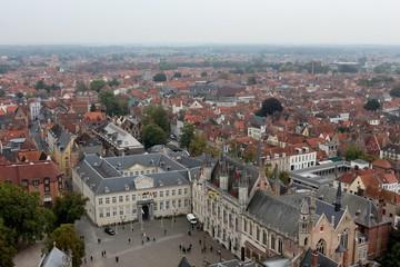 View of Bruges from Belfry Tower (Belfort)