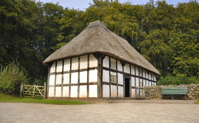 Old Welsh Architecture - England.