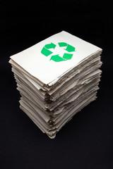 papeles para reciclar