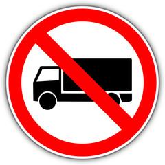LKW verboten Schild #141015-svg04