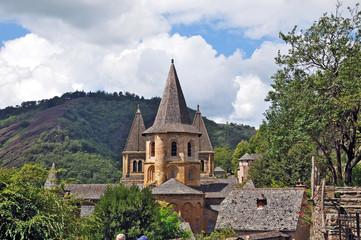 L'Abbazia di Conques, Aveyron - Francia