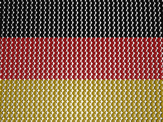 German Euros Flag background illustration