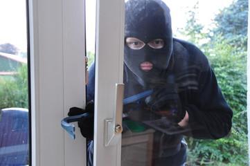 Einbrecher Terrassentür