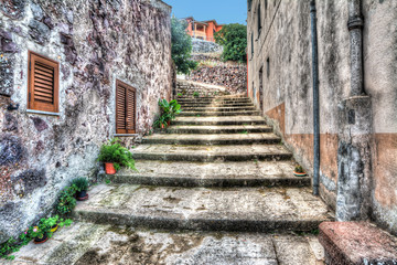 hdr stairway