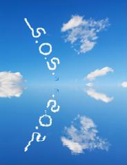 s.o.s. in the sky
