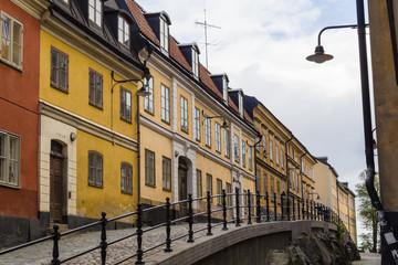 Street in Södermalm, Stockholm