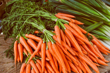 Carrots vegetable