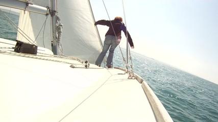 Navigation equilibriste