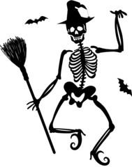 Witch Skeleton