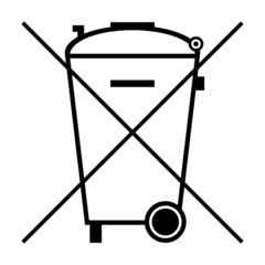 symbol batterie entsorgung I