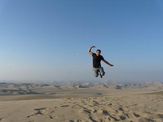 volo nel deserto