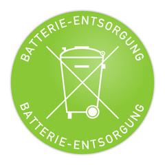 button 201410 batterie entsorgung I