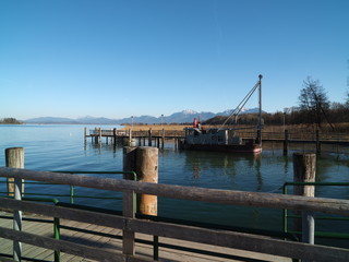 Chiemsee, Boot