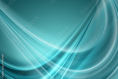 Deurstickers Abstract wave abstract elegant background design with space for your text