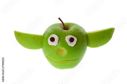 Poster Apfel - Yoda