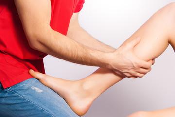 Osteopatia - Trattamento alle Gambe