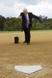 Salesman Making a Pitch