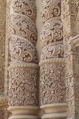 Mexican Architecture - Santo Domingo Church columns, Chiapas