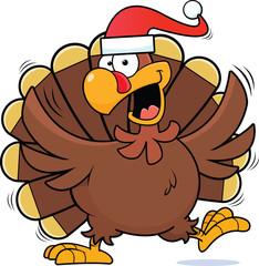 Cartoon Christmas Turkey