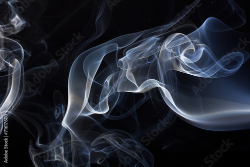 Fotobehang Rook Smoke background