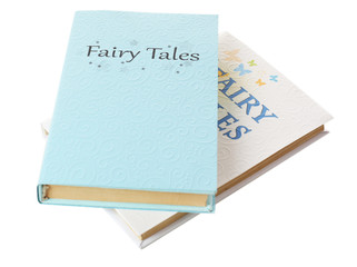 Fairy tales on table, close-up