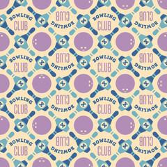 Bowling club pattern