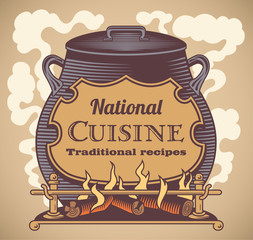 Traditional cuisine label