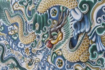 Ayutthaya Royal Palace wall decorations, Thailand