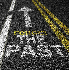 forget the past on the road